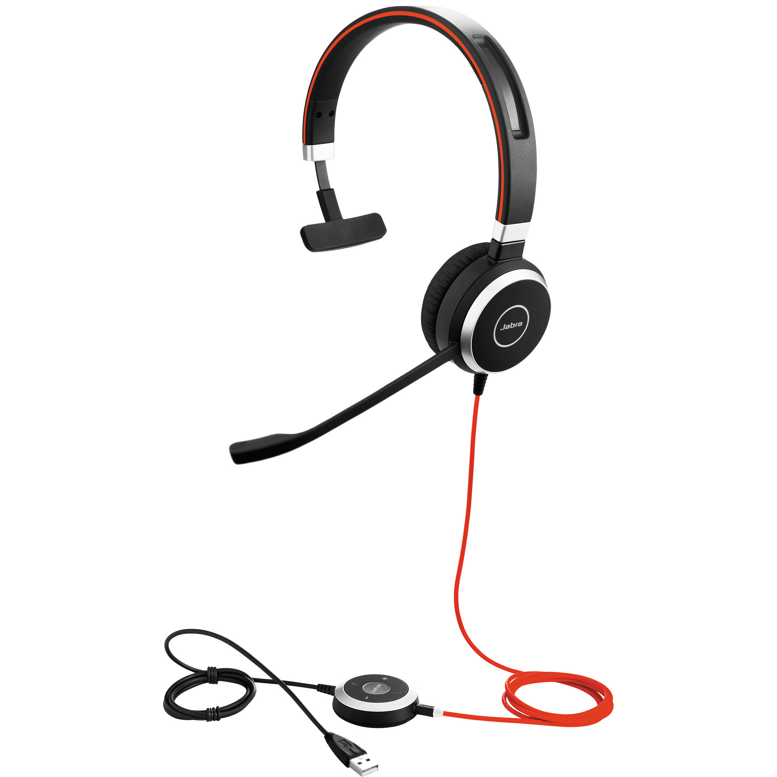 Jabra Evolve 40 mono with 3.5mm