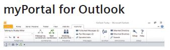 myPortal for Outlook 1